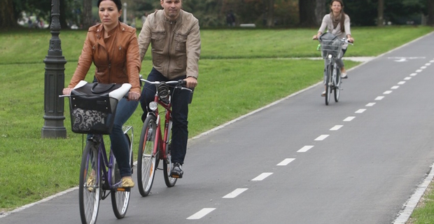 caption: Lubiana, foto di Lubiana Mobility Week