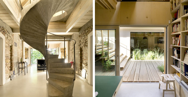 A1house storia casa luogo di lavoro for 2 piani di casa contemporanea di storia