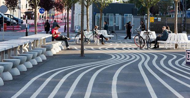 Il progetto degli elementi di arredo urbano nello spazio for Un arredo urbano