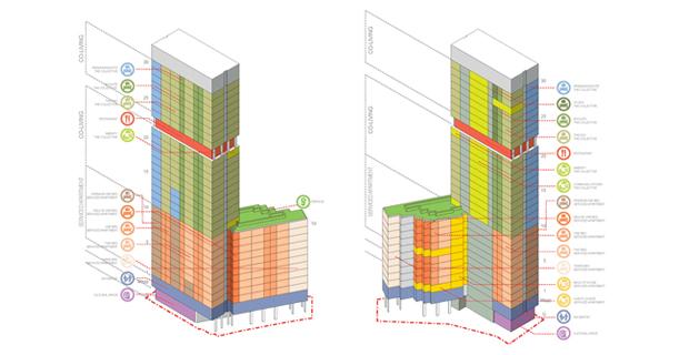 caption: Schema Cohousing, The Collective Stratford, PLP Architecture.