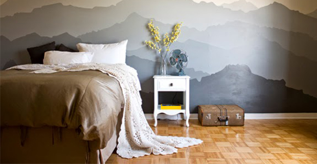 Disegni Per Dipingere Le Pareti : Idee per dipingere le pareti sfondi acquerellati e paesaggi naturali