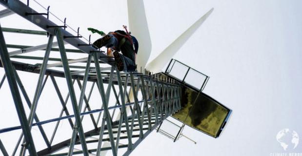 caption: un impianto eolico dell'isola di Samsø
