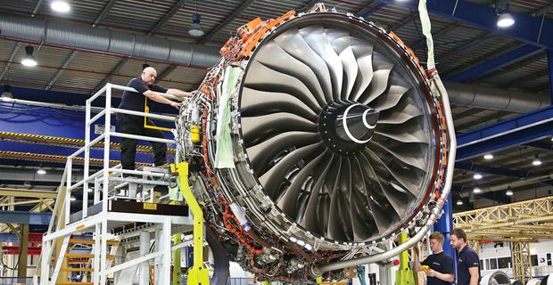 caption: Il più grande elemento per volare mai stampato in 3D - Rolls Royce