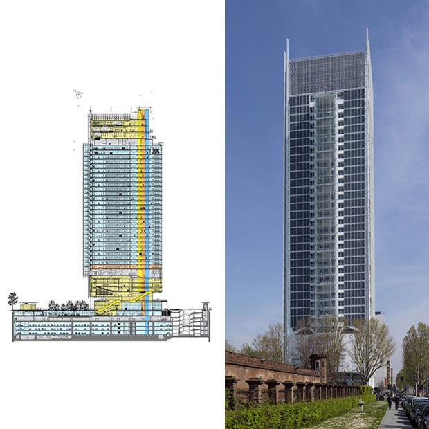 Il Grattacielo Intesa Sanpaolo Di Renzo Piano Eletto Building Of The