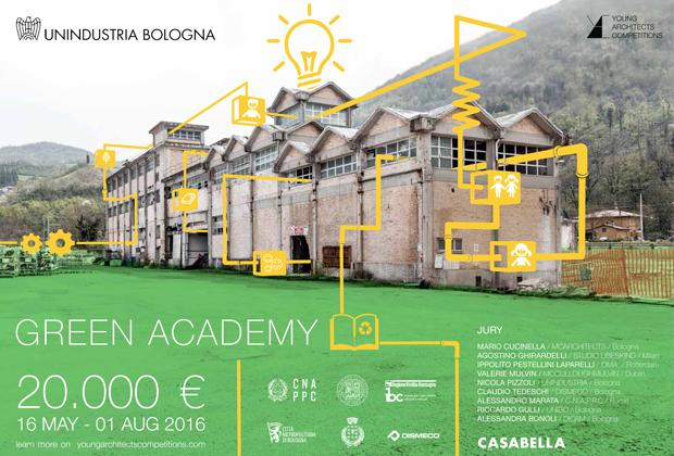 Green Academy: il concorso di YAC per recuperare l'ex cartiera di Marzabotto