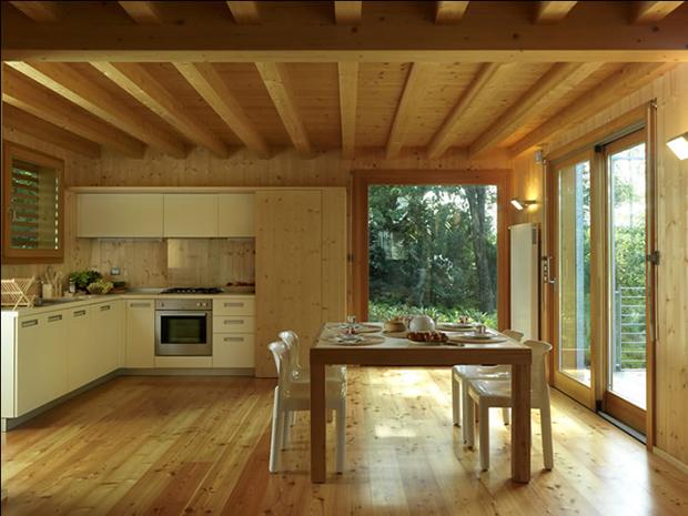 Perch scegliere il legno per le costruzioni i pregi for Costruzioni in legno