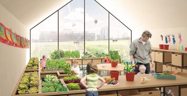 La scuola materna che insegna a coltivare nursery fields for Scuola arredatore d interni