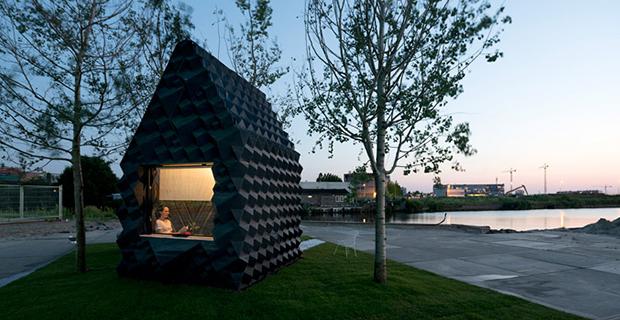 Progettazione Casa 3d : Urban cabin la micro casa stampata in d ad amsterdam