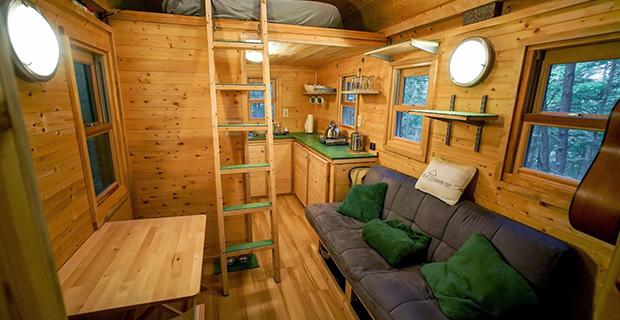 Tiny houses pro e contro e i migliori progetti - Tiny house interni ...