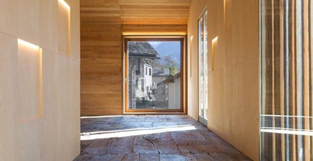 Restauro di due fienili in pietra diventano abitazione for Tipi di abitazione