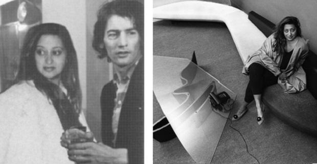 caption: A sinistra Zaha Hadid e Rem Koolhaas agli esordi della loro carriera; a destra una giovane Hadid con alcuni dei suoi oggetti di design.
