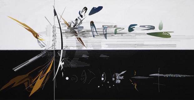 caption: Zaha Hadid, Visions for Madrid, 1992. Immagina da www.formanalysis.wordpress.com