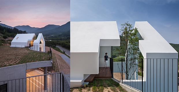 la residenza dove minimalismo e natura si incontrano