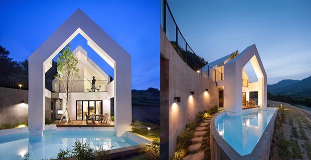 residenza minimalismo natura e
