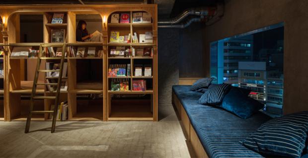 Book and Bed: a Tokyo un ostello in cui si dorme tra i libri