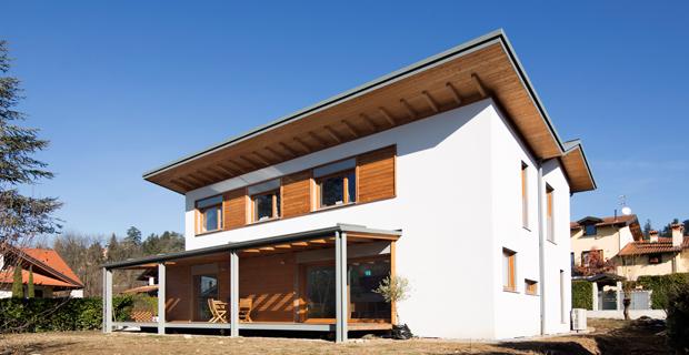 Case in legno prefabbricate nel rispetto dell ambiente e for Azienda case prefabbricate