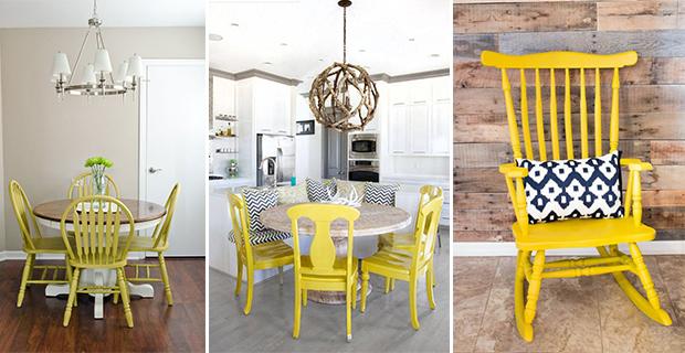 Sedie In Legno Colorate : Come rinnovare sedie in legno idee e colori