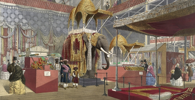 "Dickinson's comprehensive pictures of the Great Exhibition- caption: ""India No.4"""