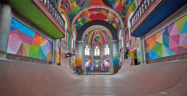 chiesa skateboard a