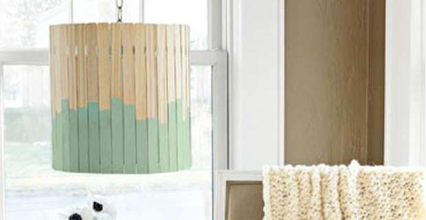 Plafoniere In Legno Fai Da Te : Idee per lampade fai da te