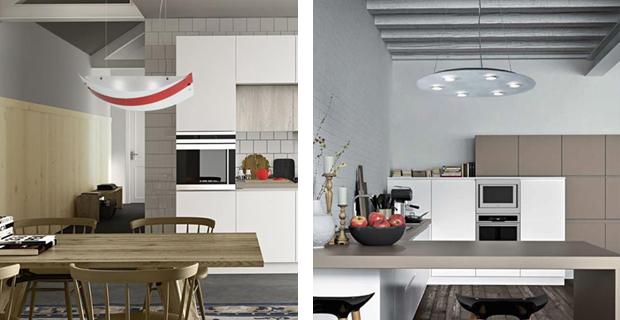 Lampade Da Cucina Moderne : La scelta di un lampadario moderno per ogni zona della casa