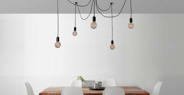 Come scegliere il lampadario moderno più adatto alla tua casa
