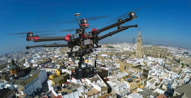 L'uso dei droni contro l'abusivismo edilizio