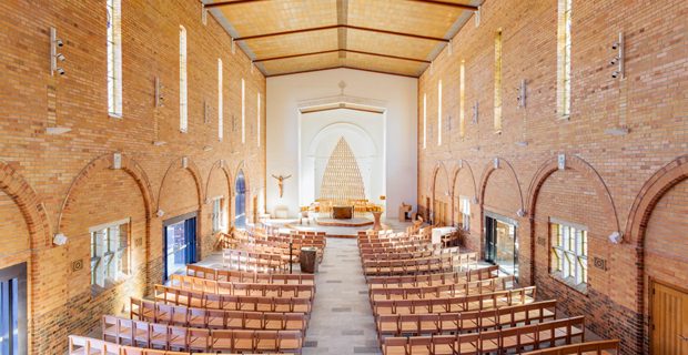 la chiesa Our lady of good counsel Deepdene a Melbourne dell'architetto Martina Tempestini