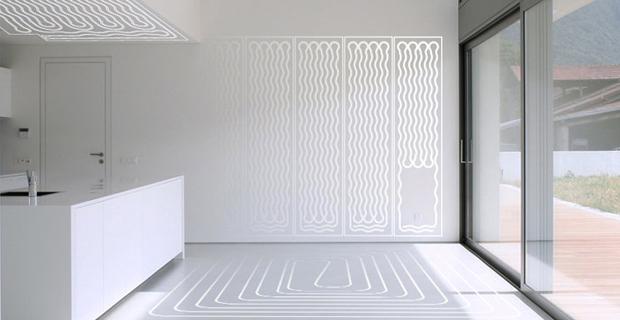 Ristrutturare casa per installare impianti radianti per riscaldare