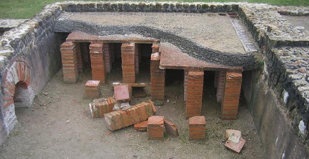 Gli antichi romani già usavano i sistemi radianti a pavimento per riscaldare casa