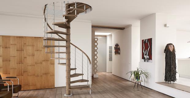 La scala di accesso al sottotetto per rendere abitabile le soffitte è la prima scelta da compiere