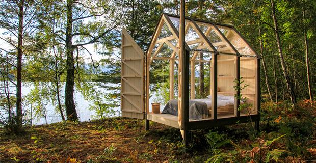 Il rifugio 72Cabin per alleviare lo stress con un soggiorno immerso nella natura