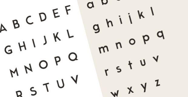 I 10 font adatti al lavoro di architetti e designer