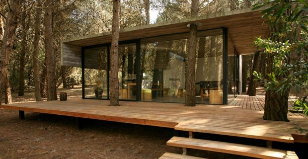 La casa vacanze nel bosco di Mar Azul