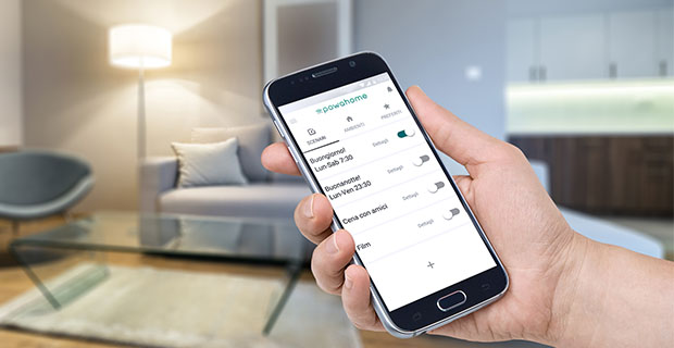 L'app per la domotica da smartphone Powahome.