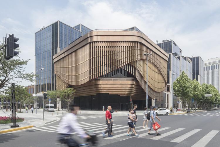 La facciata del Fosun Foundation di Foster a Shanghai