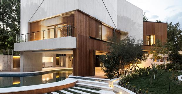 Il rapporto tra interno ed esterno nell'architettura della Kooshk House