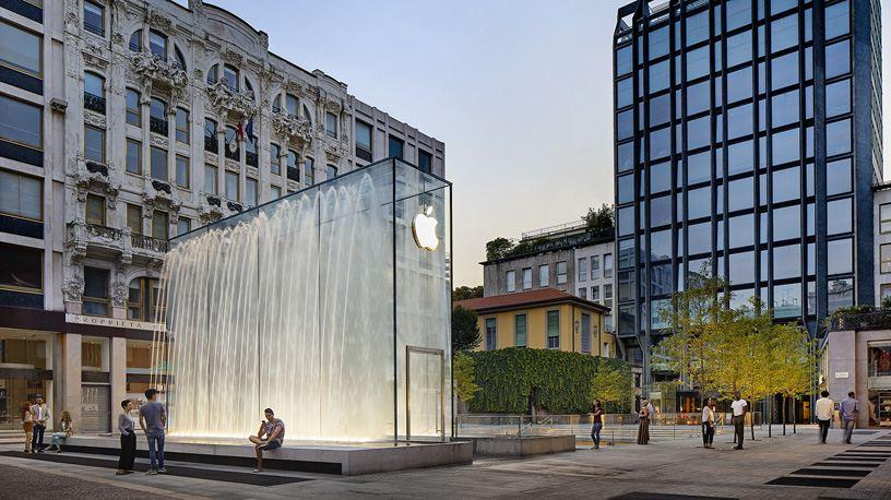 Il nuovo Apple Store di Milano è ipogeo