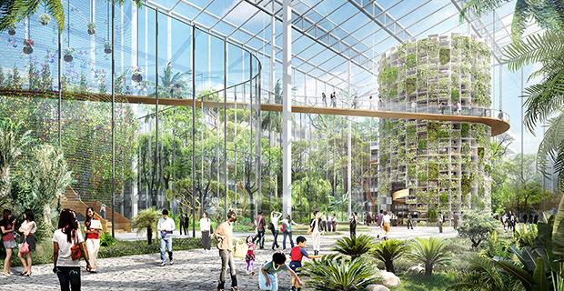 Il nuovo distretto di Sunqiao a Shanghai dedicato all'agricoltura urbana