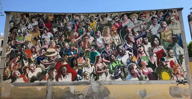 I murales d'artista per il mercato di Ballarò