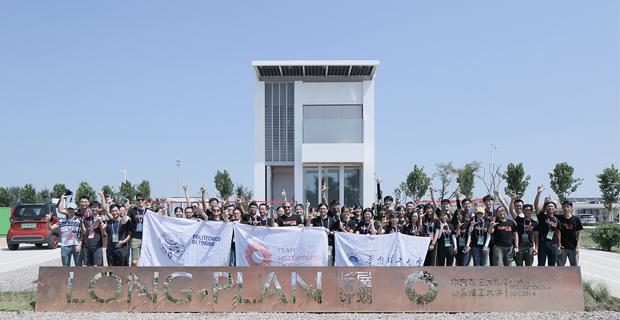E' anche italiano Long Plan progetto vincitore del Solar Decathlon China 2018.