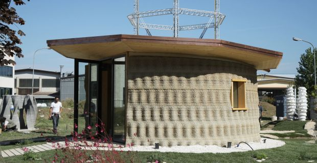 La prima casa stampata in 3d con la terra cruda si chiama Gaia.
