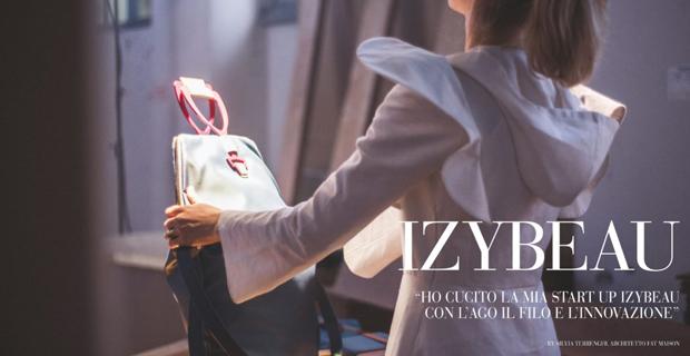 La start up Izybeau e le sue creazioni con ago filo e innovazione.