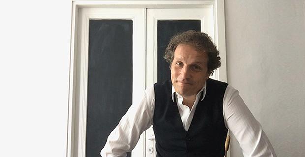 Gianni Terenzi nell'intervista per la rubrica Al caffè dell'Architetto.