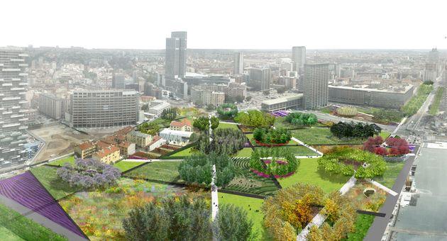 La biblioteca degli alberi è il nuovo giardino botanico di Milano