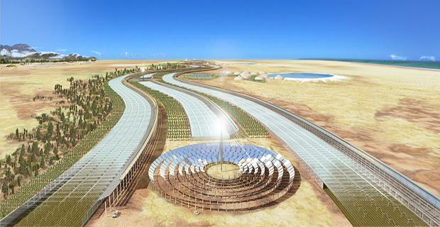 Il progetto Sahara Forest Project per portare acqua cibo ed energia nel deserto