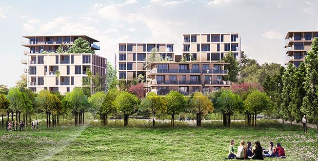 Il nuovo quartiere SeiMilano di Mario Cucinella.