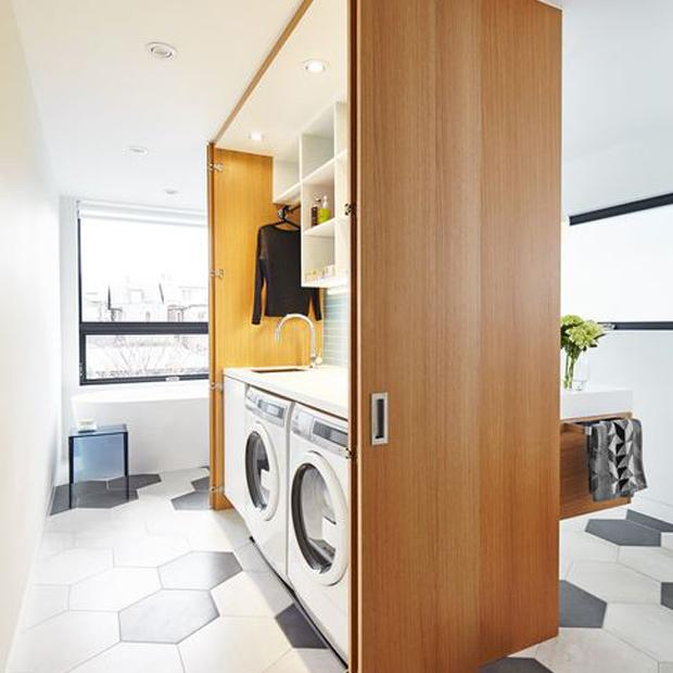 Arredare la lavanderia di casa idee e consigli per scegliere i mobili - Mobili lavanderia su misura ...