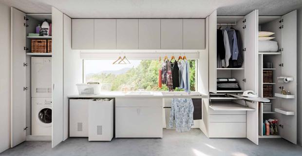 Arredare la lavanderia di casa idee e consigli per for Consigli arredo casa