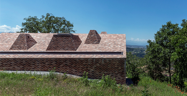 In Piemonte una casa in mattoni tra innovazione e tradizione